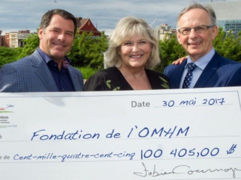 Record Donation fondation de l'OMHM - Groupe Geyser