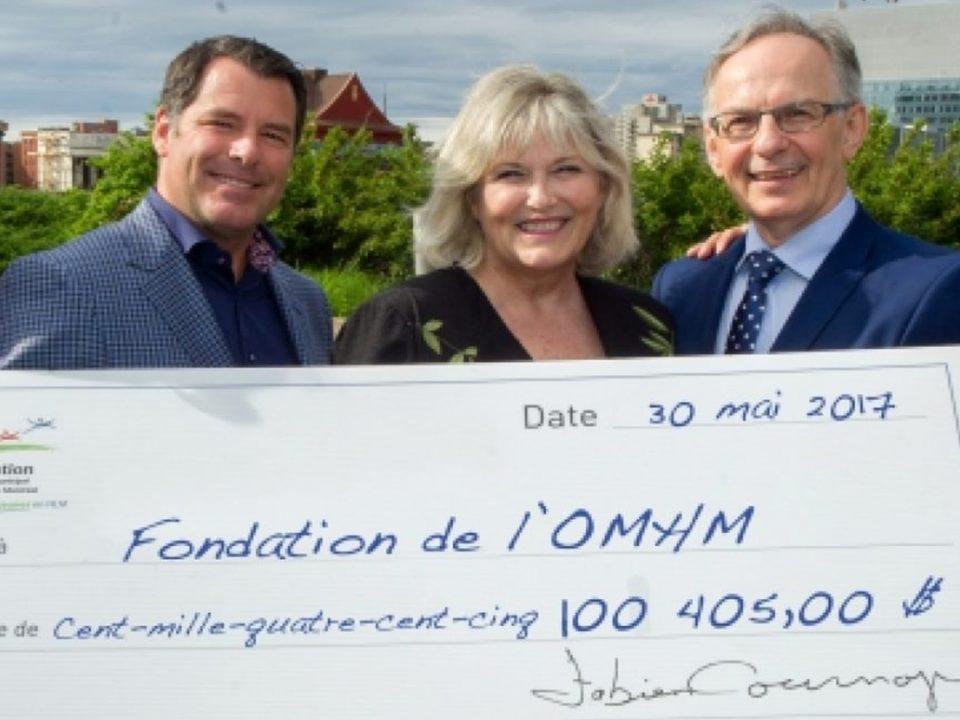 A record amount for la Fondation de l'OMHM - Groupe Geyser