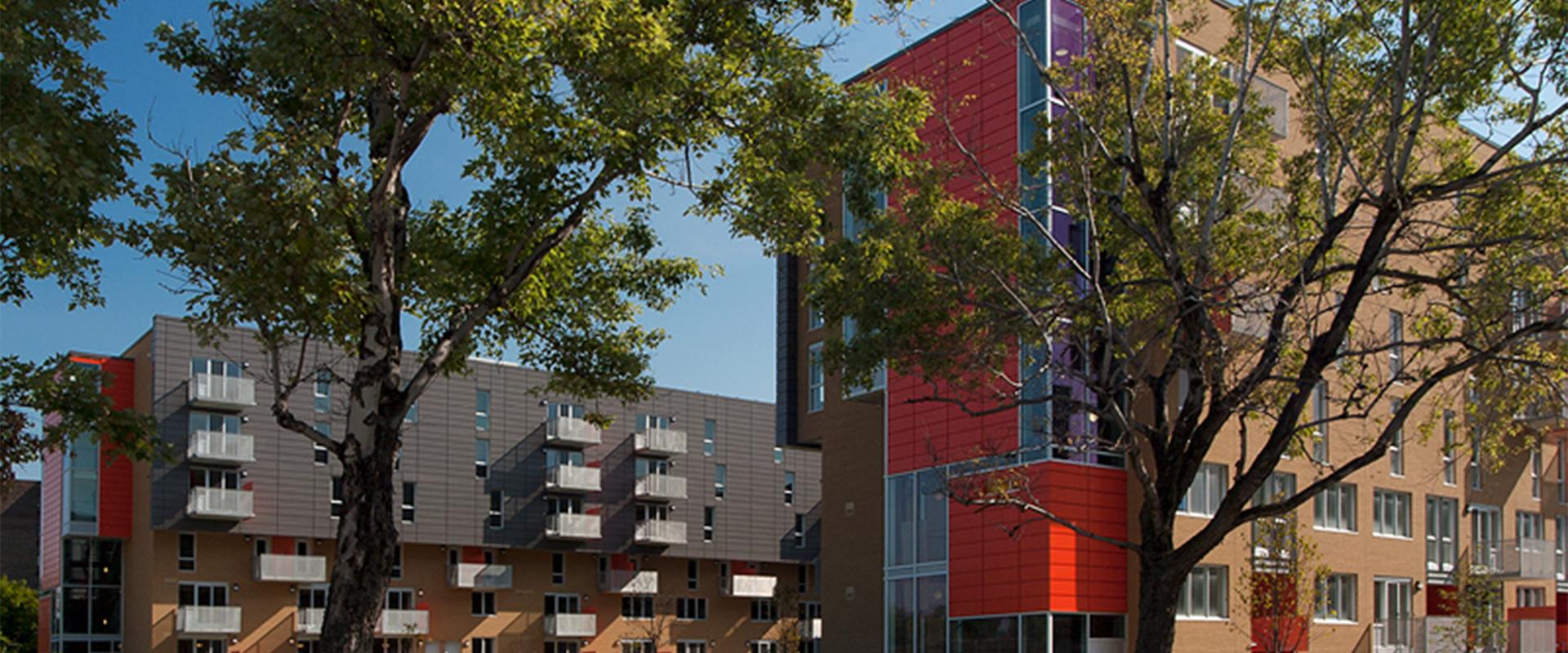 Construction de 180 unités d'habitation de 3 bâtiments